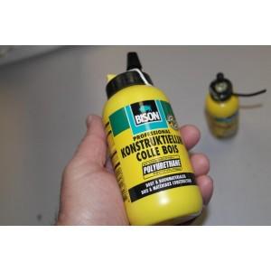 PU-XL glue EPO + EPS (Styrofoam)Bison