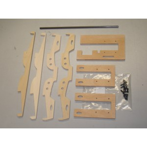 Plywood construction F-18 retracts